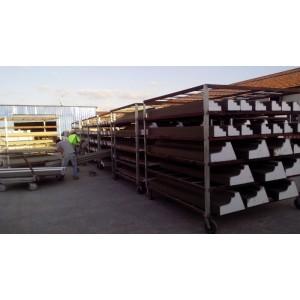 EPS线条工厂生产后期阴干