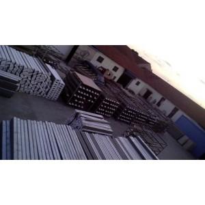 EPS线条生产打包堆放